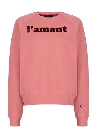 Xint Sweatshirt Pembe